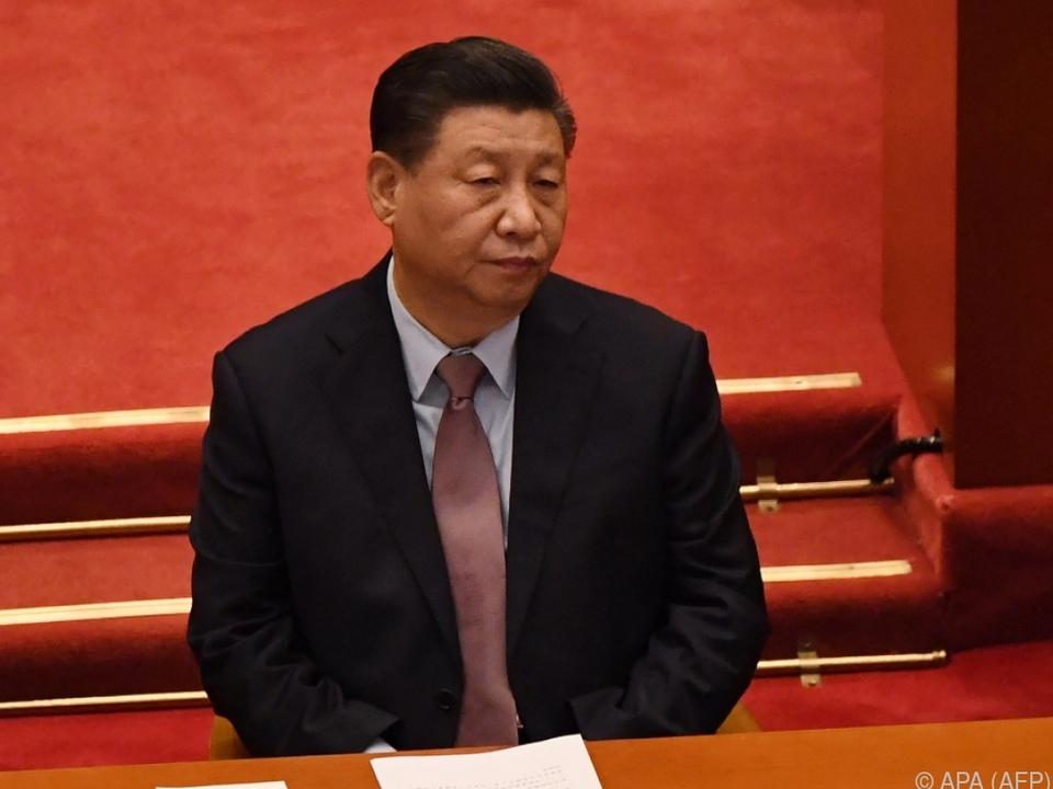 Staatschef Xi Jinping warnt vor \