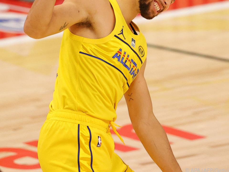 Stephen Curry feiert zum Geburtstag Sieg über Utah