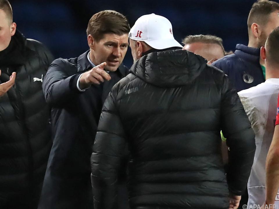 Steven Gerrard war nach der Niederlage wütend