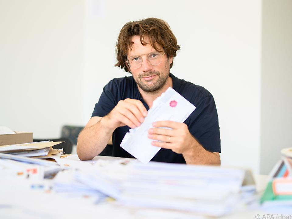 Stipendium-Initiator Friedrich von Borries