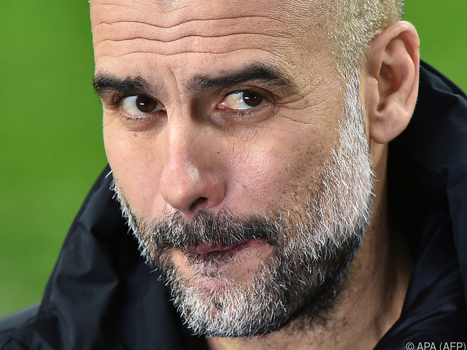 Stolz auf nur ein Gegentor in acht CL-Partien: City-Coach Guardiola