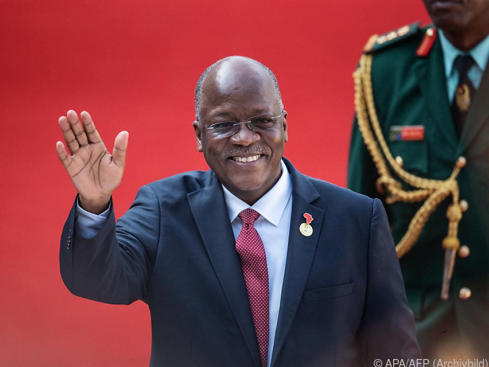 Tansanias Präsident Mgaufuli gestorben