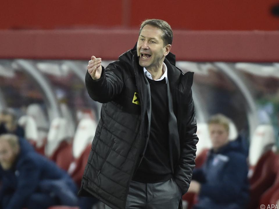Teamchef Foda will Erfolgserlebnis gegen Dänemark