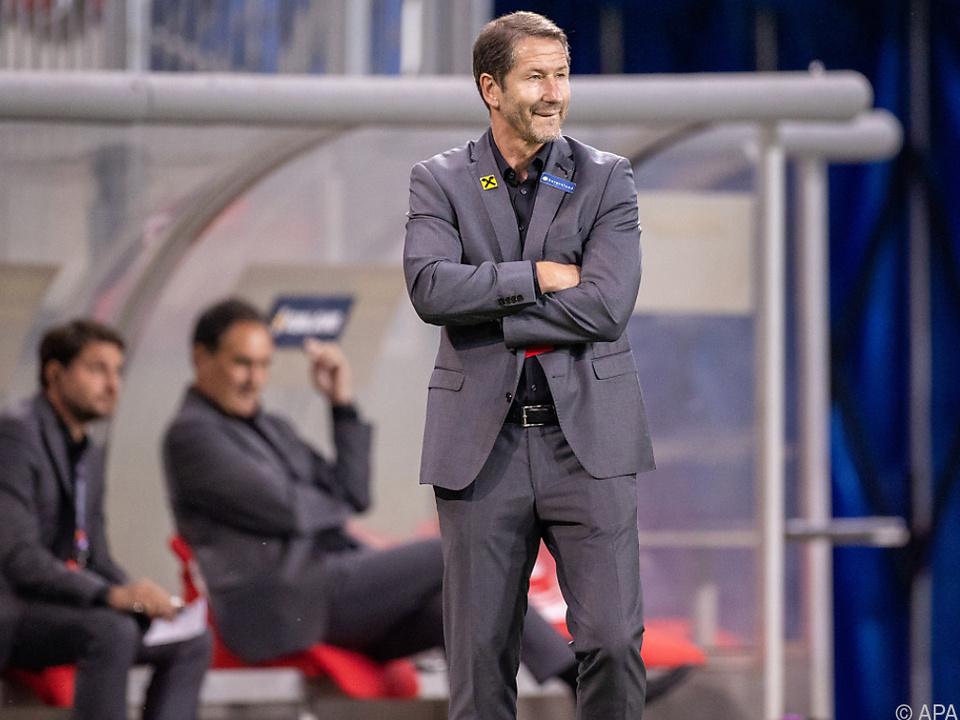 Teamchef Franco Foda muss gegen Schottland ein neues Team finden