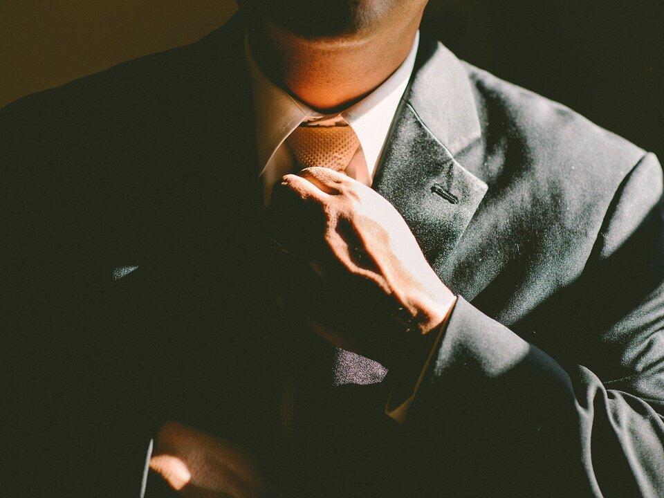 Krawatte Unternehmer