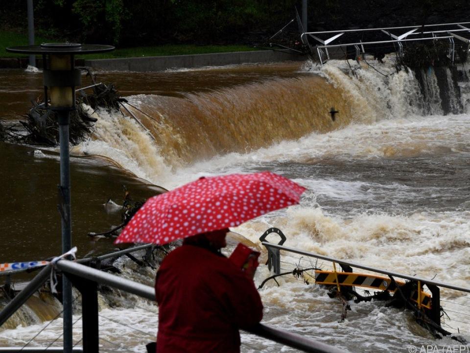 Überflutungen nach tagelangem Starkregen