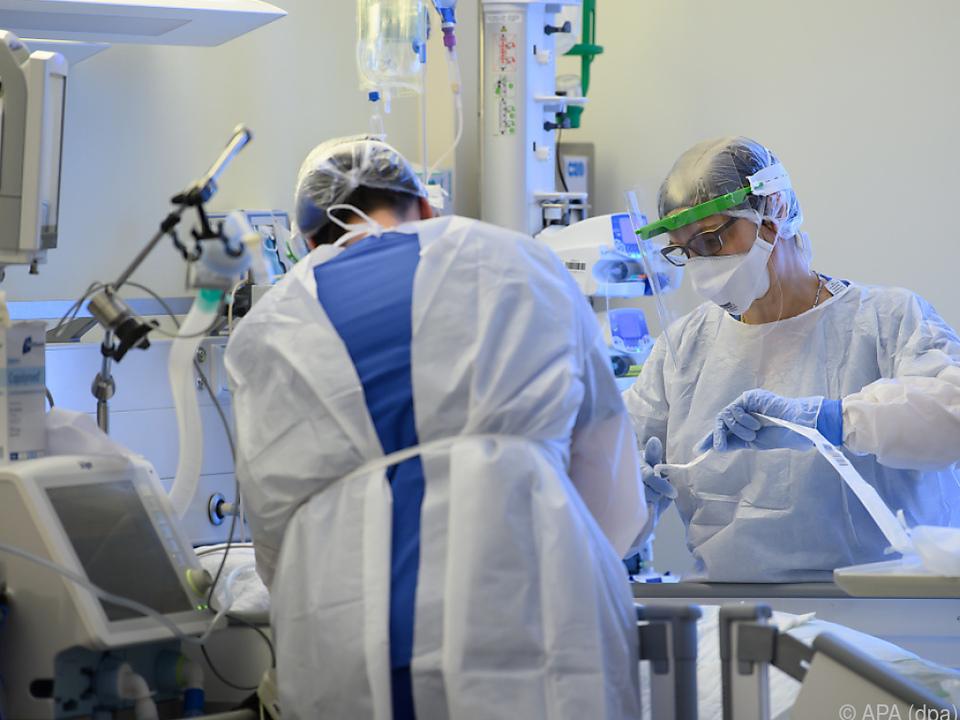 Übernächste Woche werden laut Prognose 630 Intensivbetten belegt sein