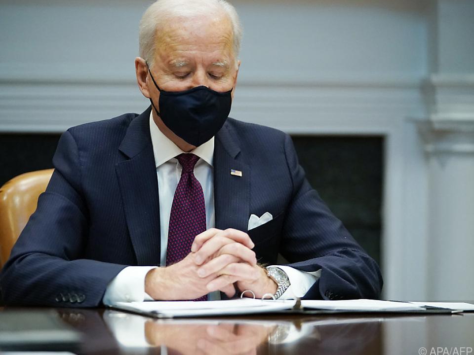 US-Präsident Biden will sein Corona-Hilfspaket durch Kongress bringen