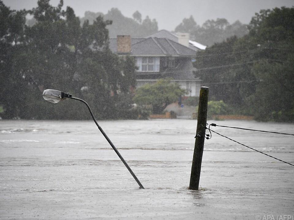 Verheerende Überschwemmungen an der Ostküste Australiens