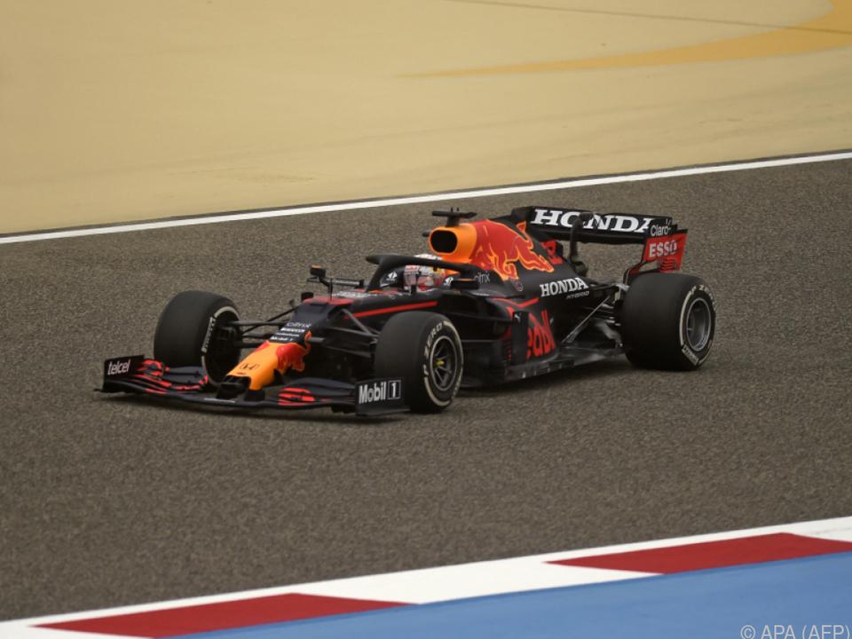 Verstappen fuhr im Red Bull zum Testauftakt Tagesbestzeit