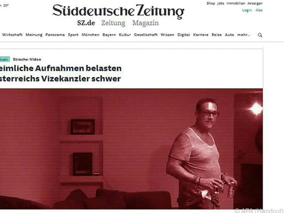 Video hatte Österreichs Politlandschaft massiv erschüttert
