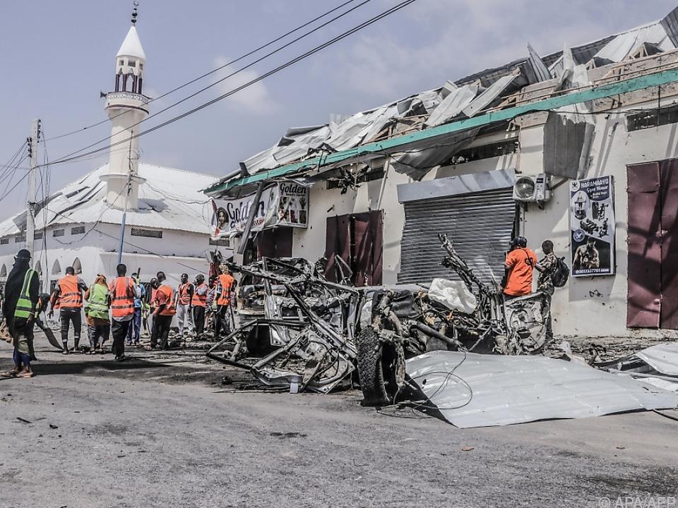 Wieder blutiger Anschlag von Islamisten in Somalia