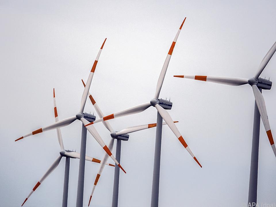 Windkraftwerke weniger beliebt