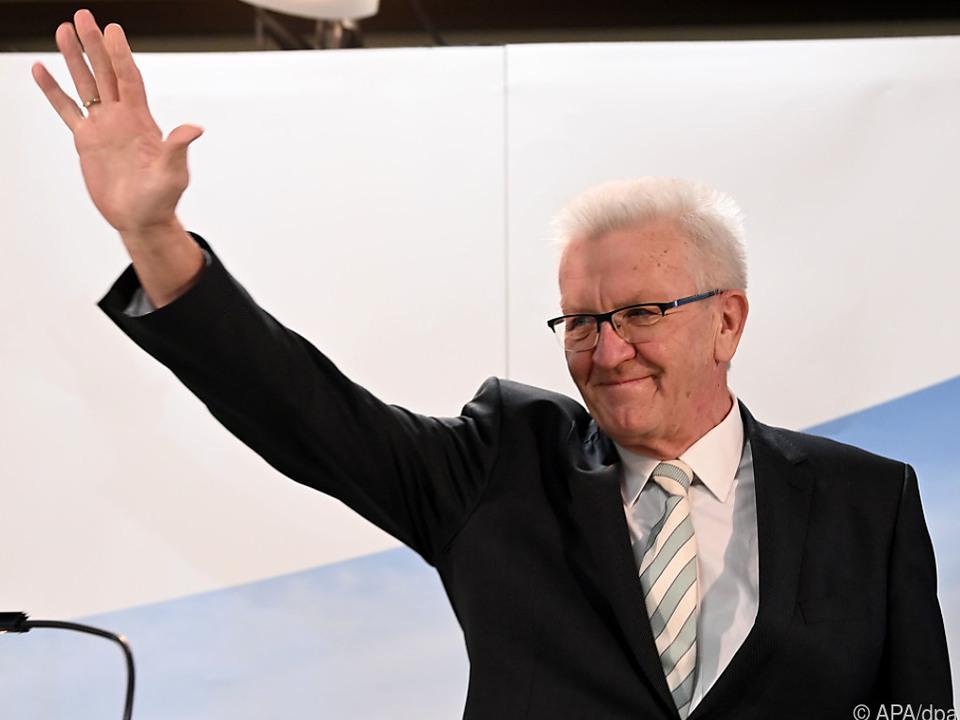 Winfried Kretschmann hat in Baden-Württemberg weiter das Sagen