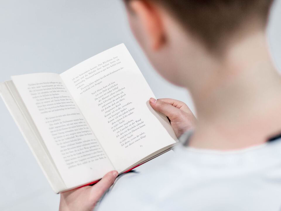 Buch Lesen sym