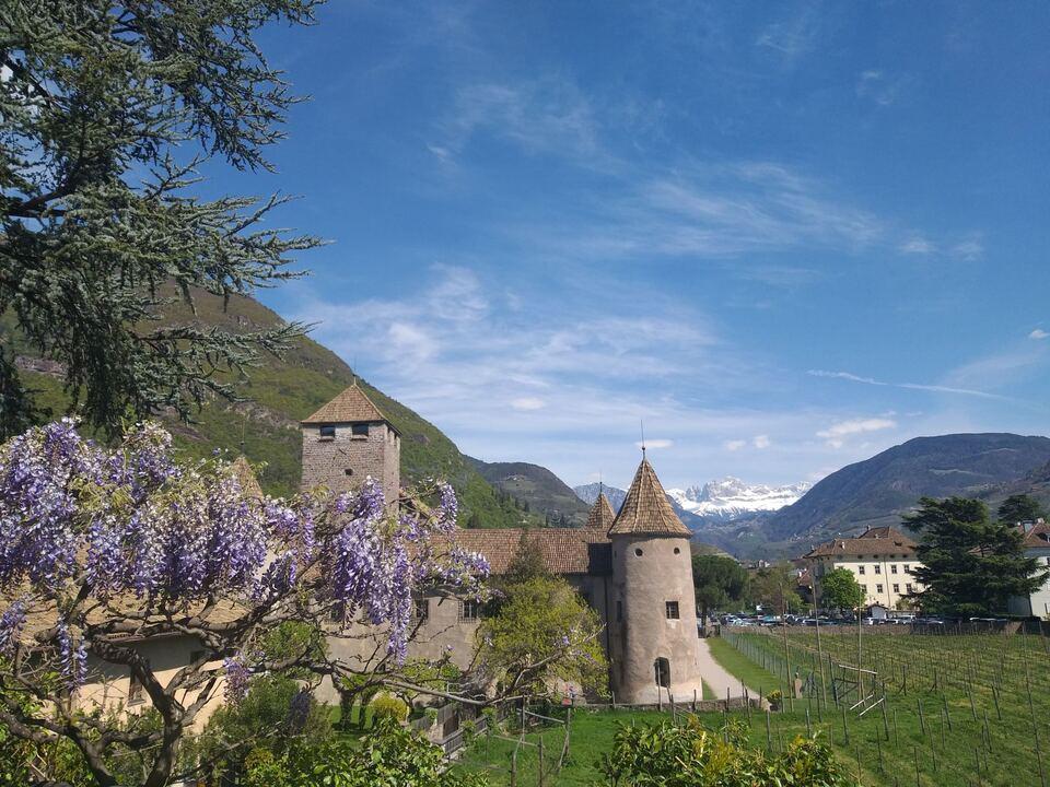 Schloss Maretsch Frühling