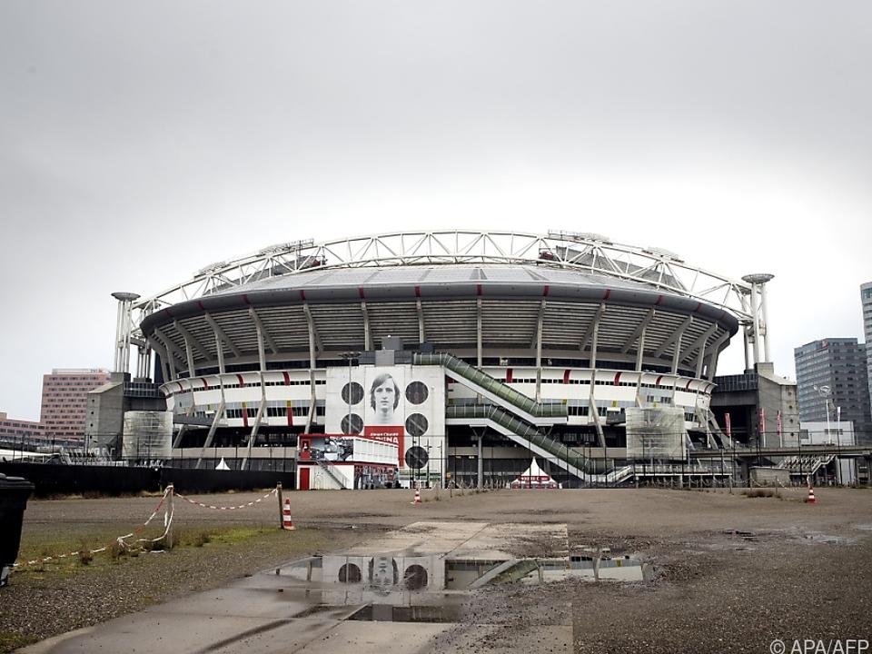 12.000 Zuschauer sollen in die Johan Cruijff Arena von Amsterdam kommen