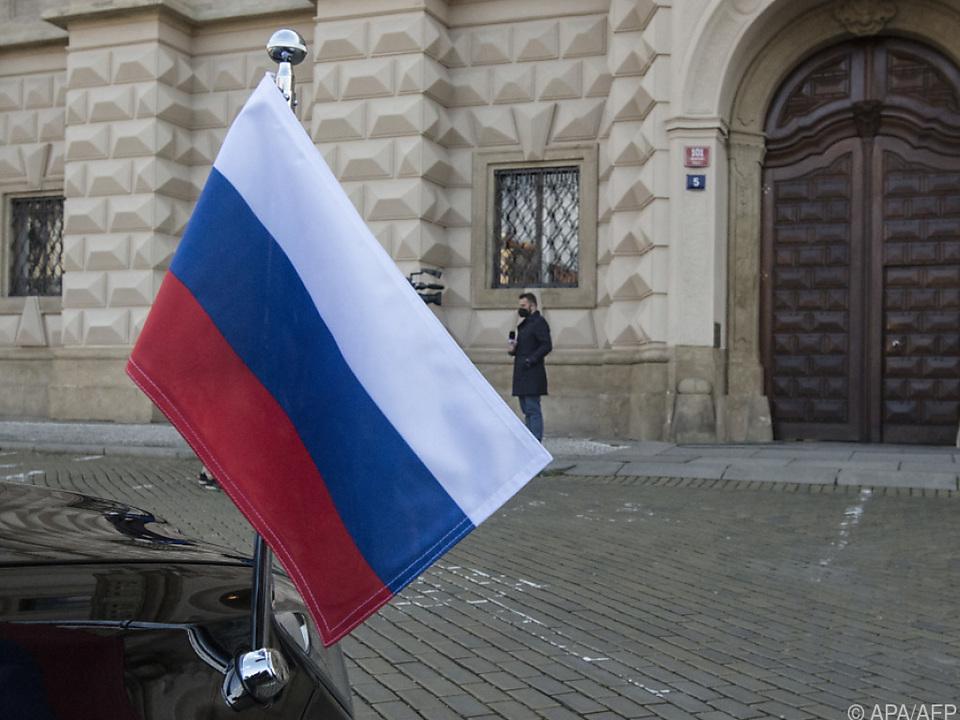70 Russen sollen die tschechische Hauptstadt verlassen