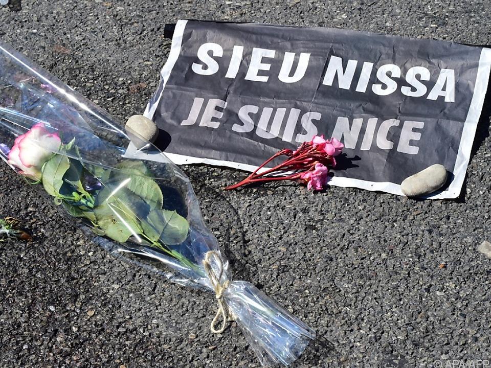 86 Menschen starben bei dem Attentat im Juli 2016
