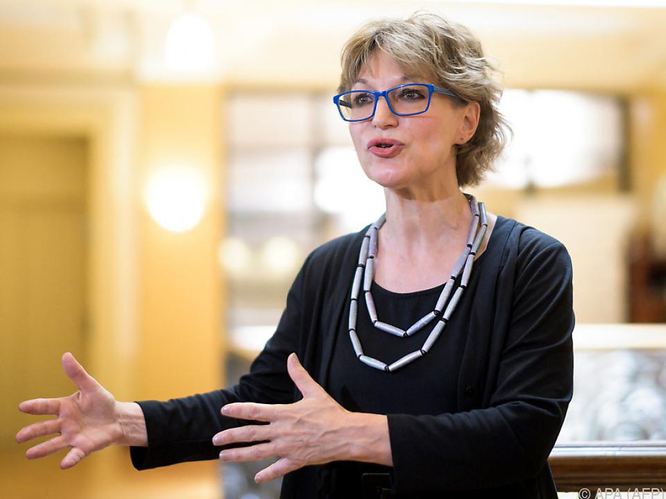 ai-Generalsekretärin Agnès Callamard artikulierte die Kritik