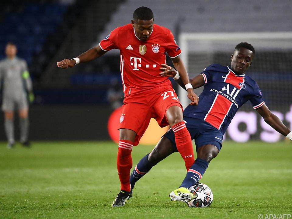 Alaba spielte zum letzten Mal im Bayern-Dress in der Champions League