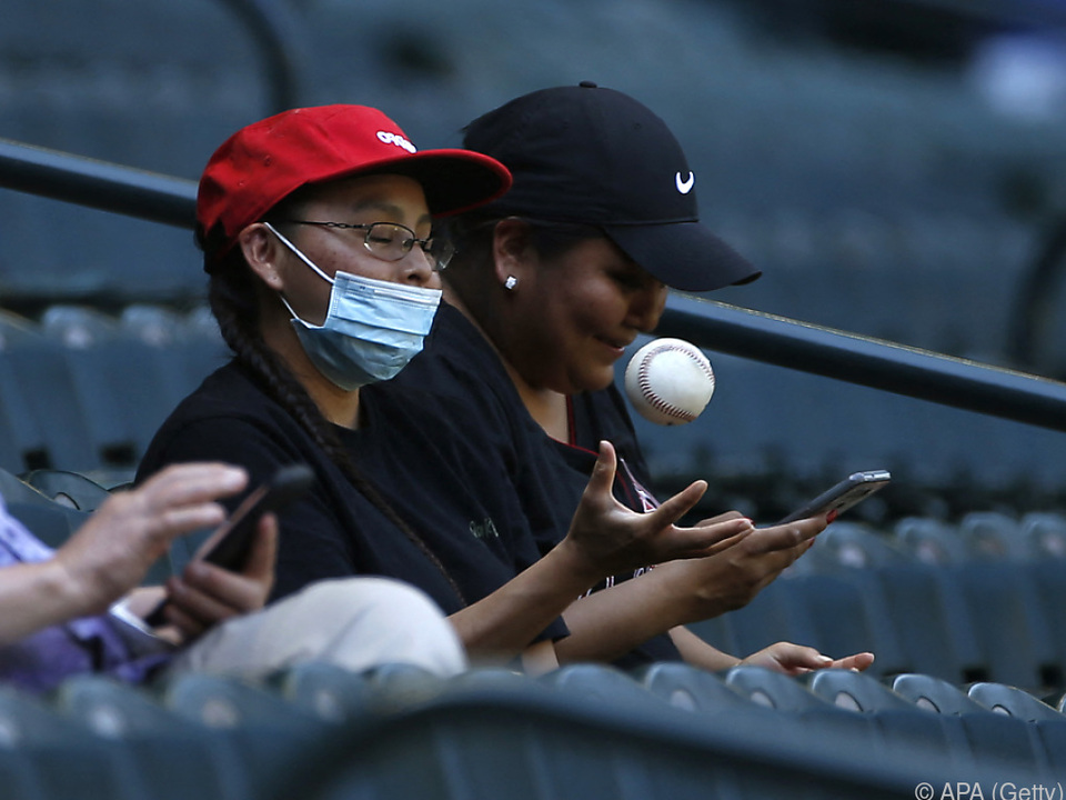 Alle MLB-Clubs lassen Fans ins Stadion