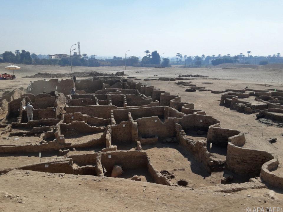 Antike Stadt gut erhalten - \
