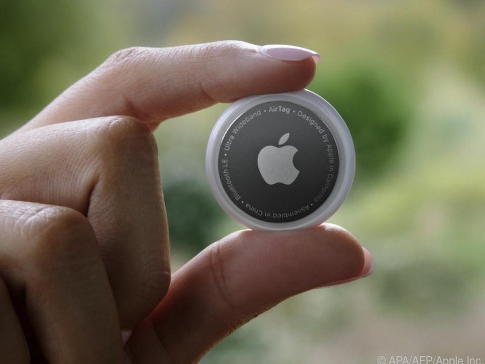 Mit dem Apple Air Tag wird Verlorenes gefunden