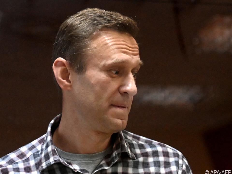 Arbeitsverbot für Organisationen des inhaftierten Nawalny