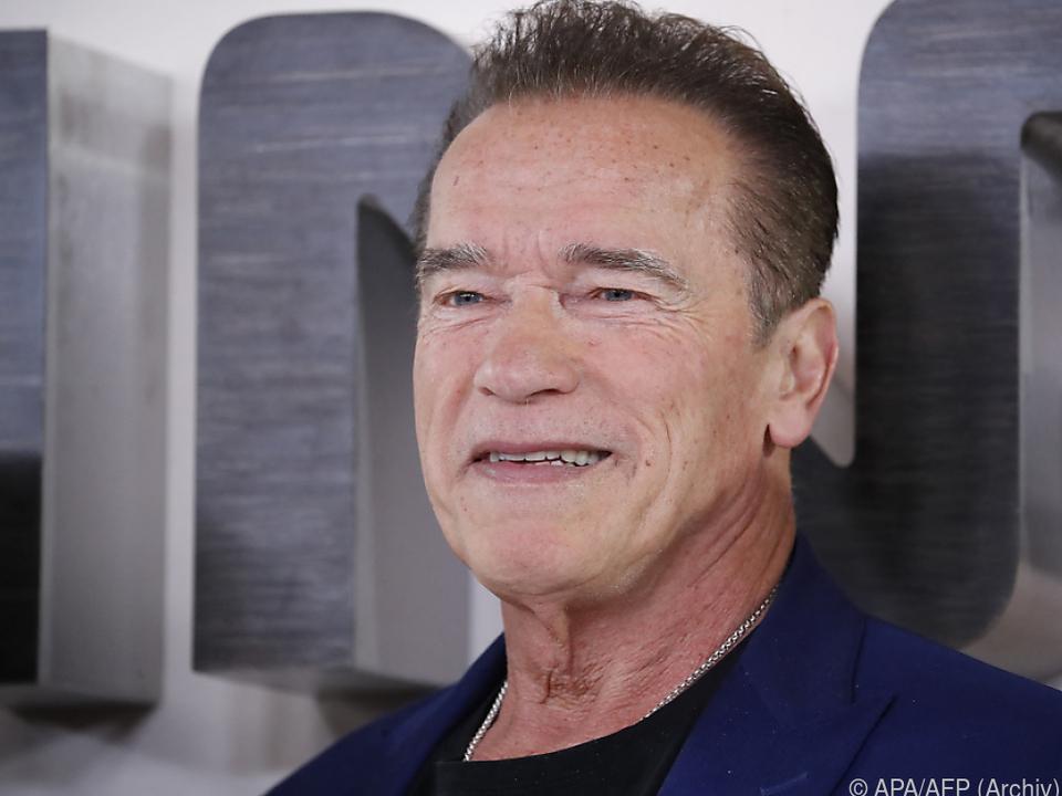 Arnie hat sich der Umwelt verschrieben