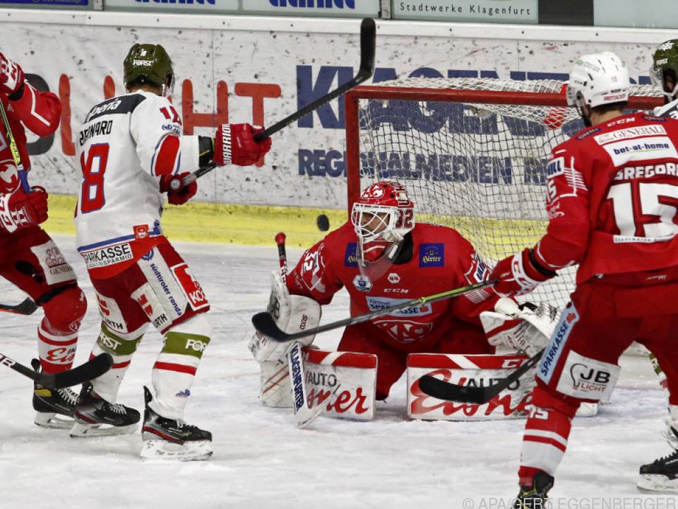 Auch beim 3. Finalspiel Südtirol - KAC sind heiße Szenen zu erwarten.