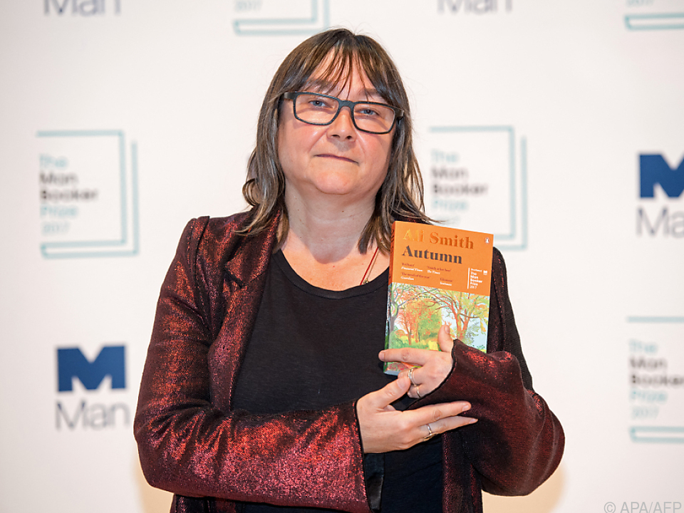 Autorin Ali Smith mit \