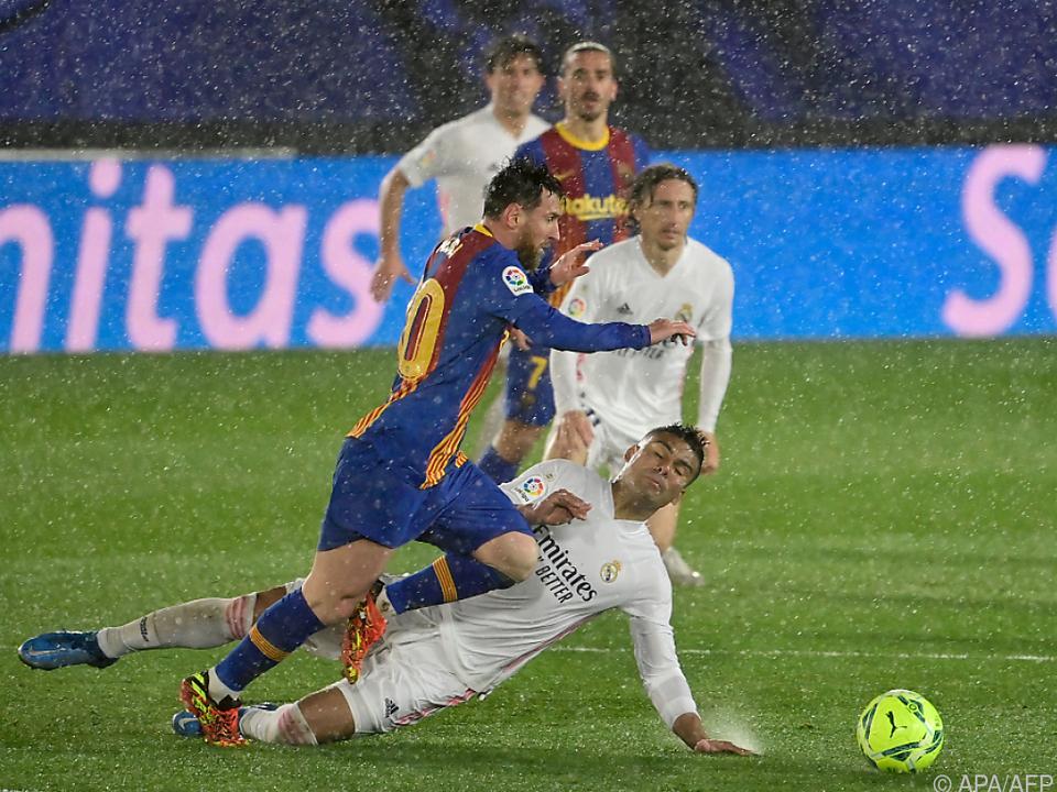 Barca und Real wollen einander künftig in der Super League duellieren