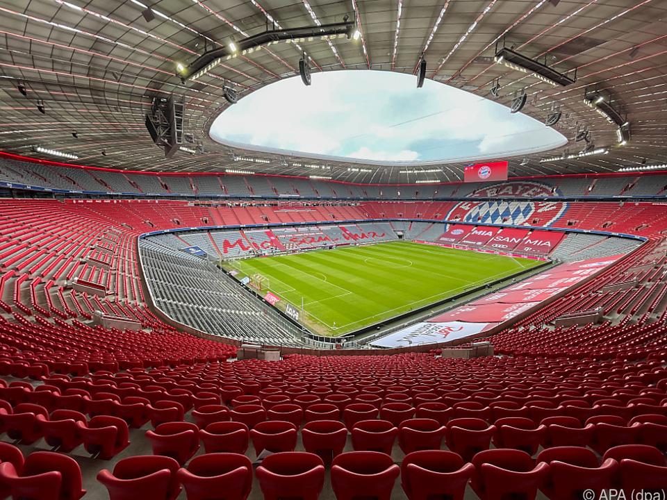 Bei EM sollen Zuschauer das Münchner Stadion zumindest halb füllen