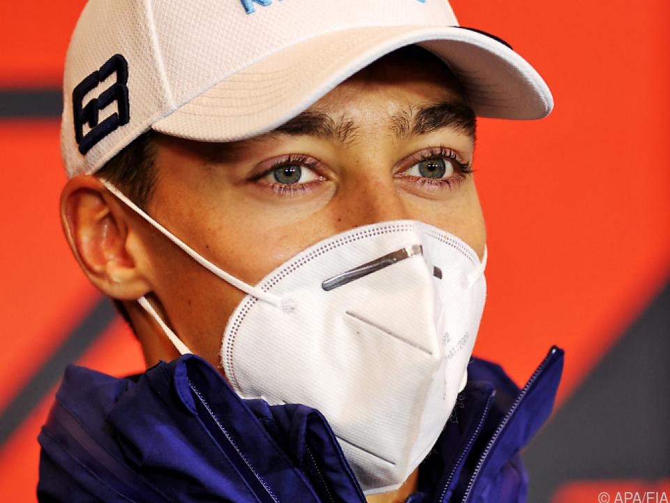 Brite Russell beim Formel 1 Rennen in Imola