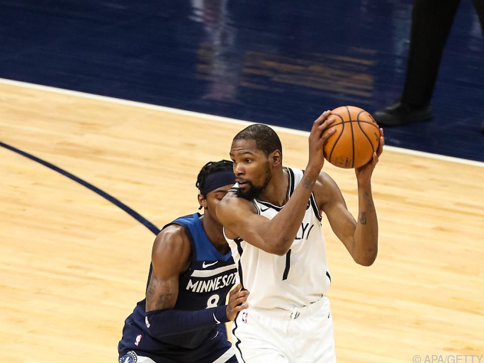 Brooklyn-Topspieler Durant ist erneut verletzt