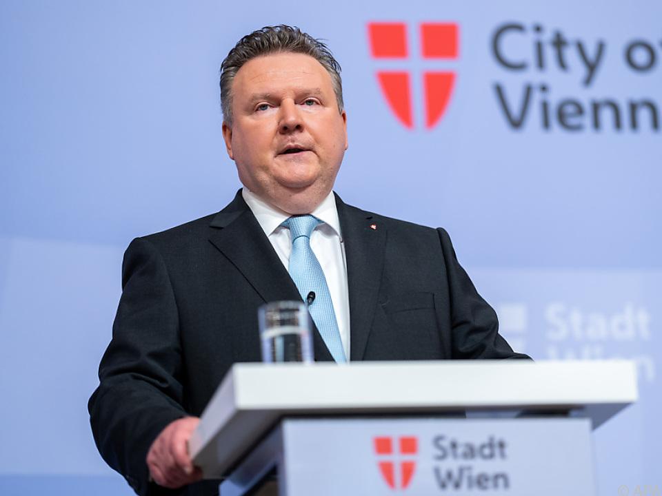 Bürgermeister Ludwig gab die Entscheidung bekannt
