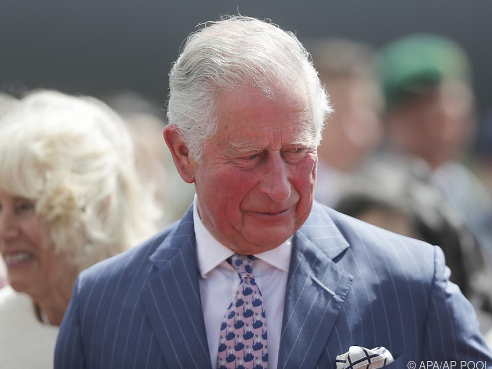 Charles rief zu Spenden für Indien auf