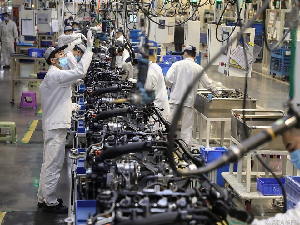 Chinas Wirtschaft erholt sich wieder