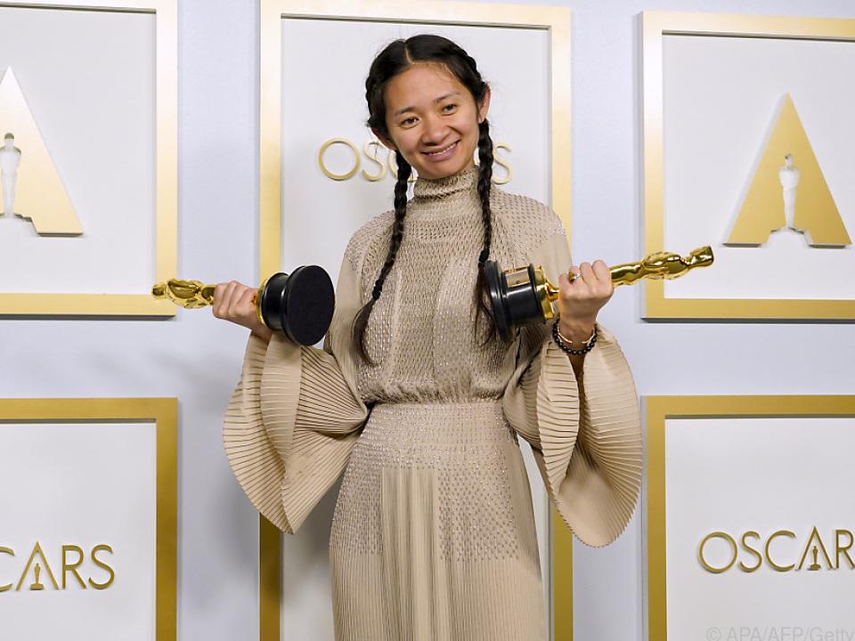 Chloé Zhao hat Grund zur Freude