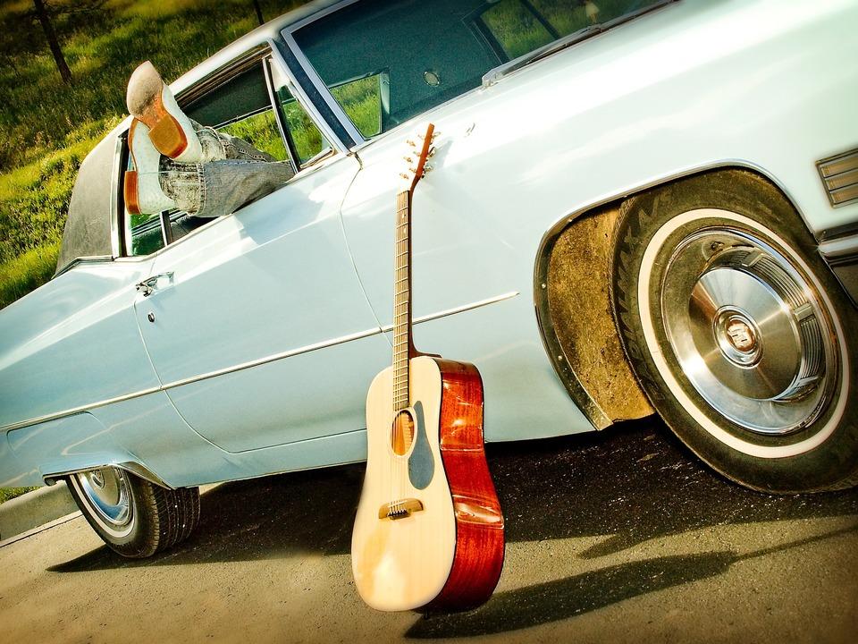 Oldtimer Gitarre Entspannen