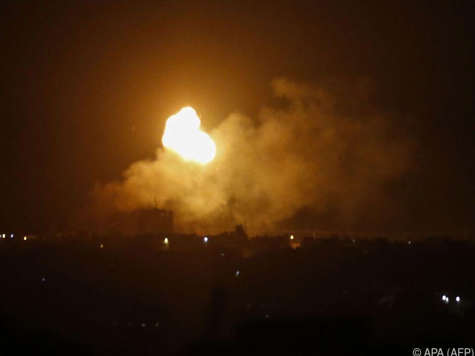 Das klassische Feuer und Gegenfeuer im Nahen Osten