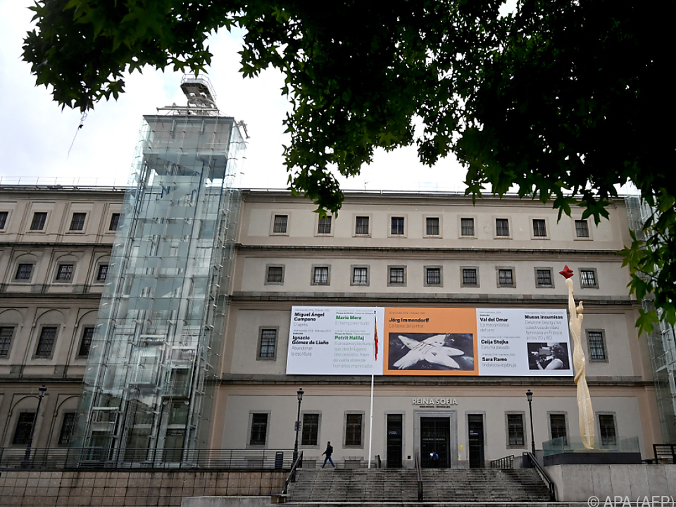 Das Madrider Reina Sofià Museum würdigt Marokko