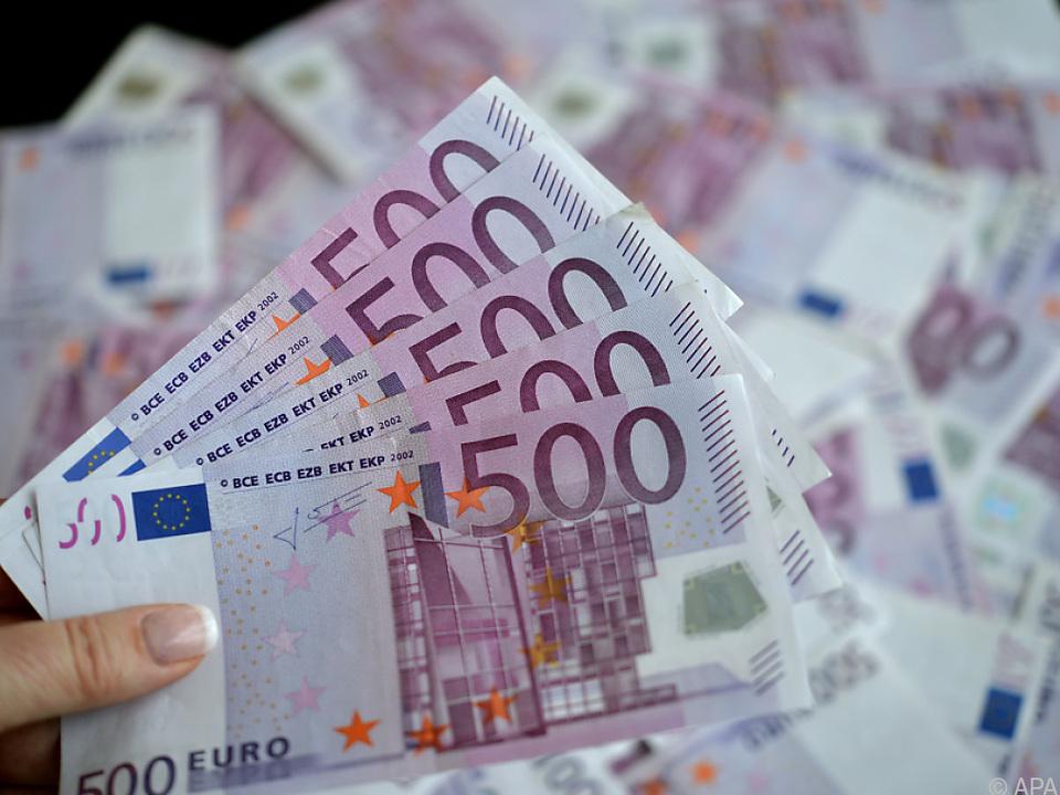 Der 500-Euro-Schein als Auslaufmodell