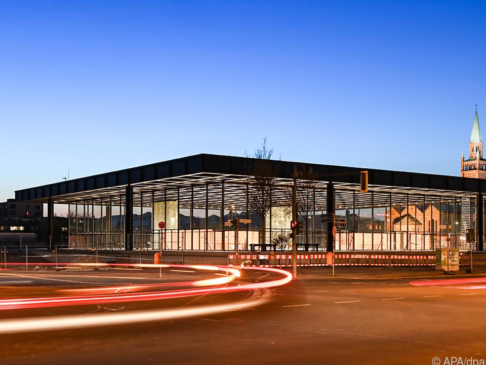 Der Bau von Chipperfield gilt als Wahrzeichen moderner Architektur