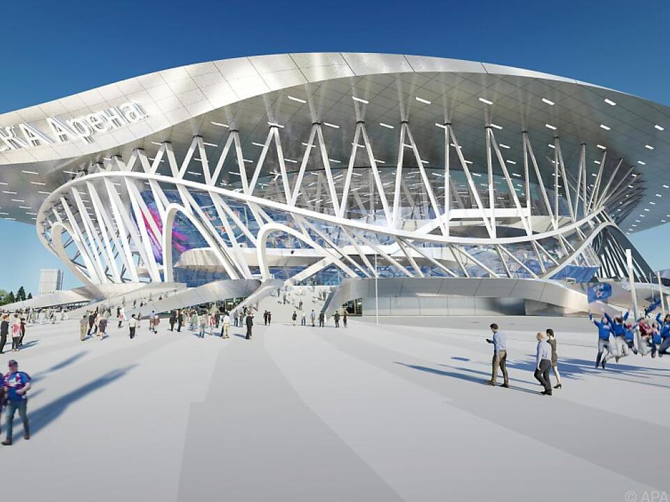 Der Entwurf der Wiener Architekten