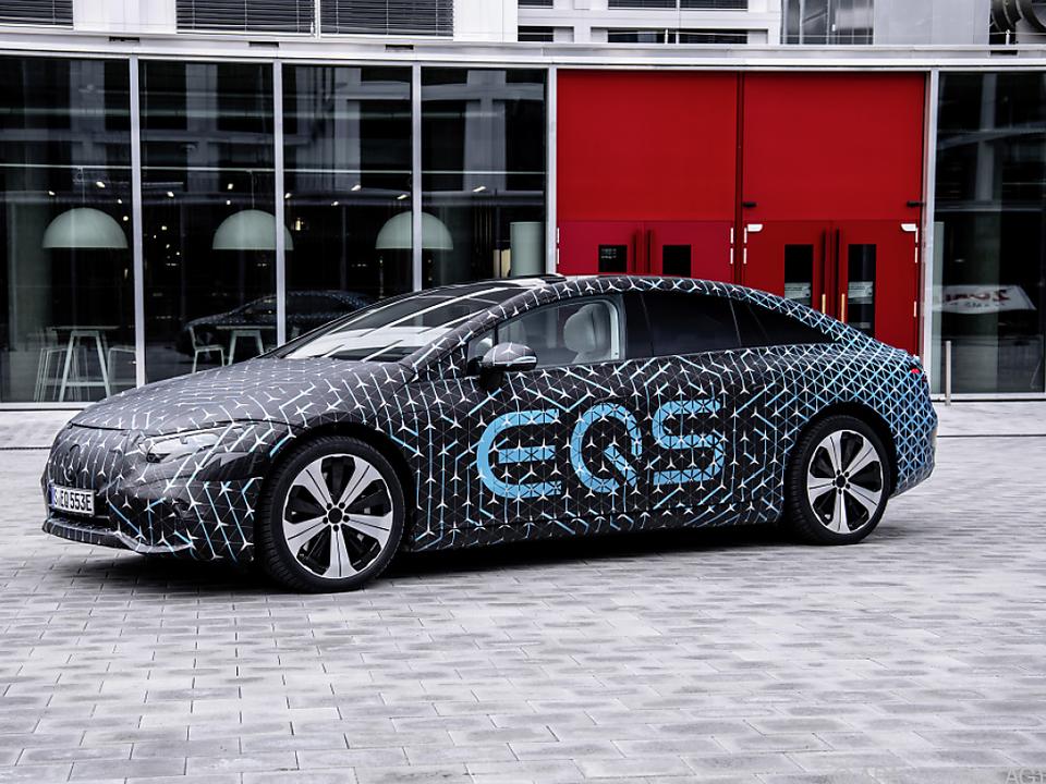 Der EQS ist das neue Elektroauto von Daimler