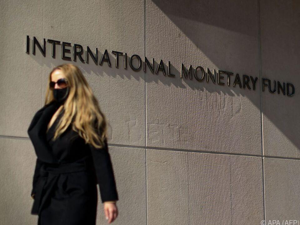 Der IWF rechnet heuer mit stärkerem Wachstum als bisher angenommen
