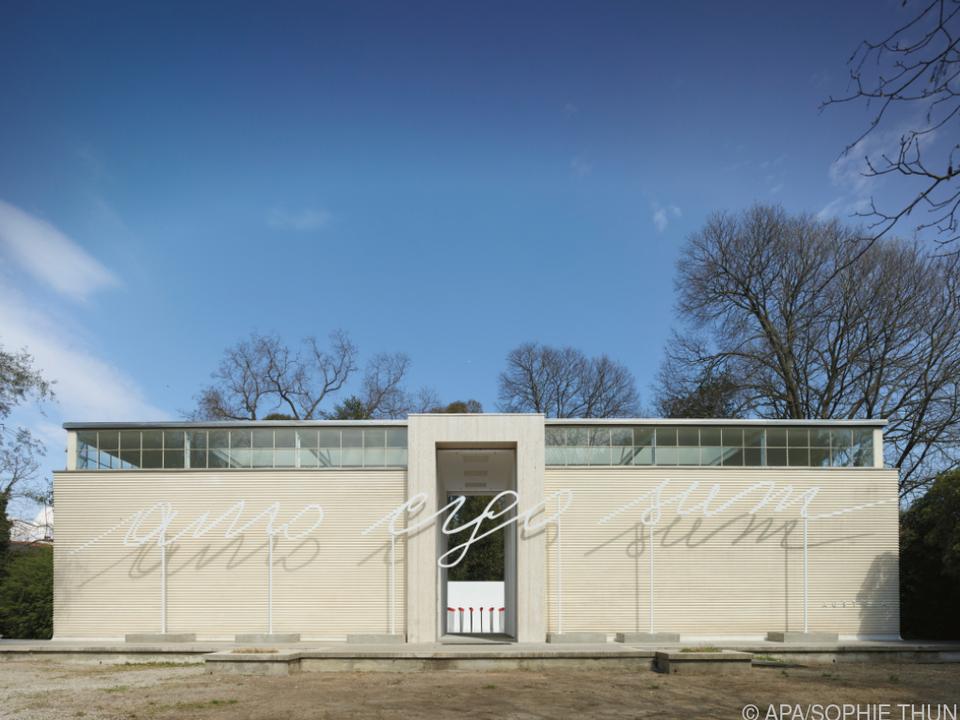 Der Österreich-Pavillon in Venedig, 2019 bei der Kunstbiennale
