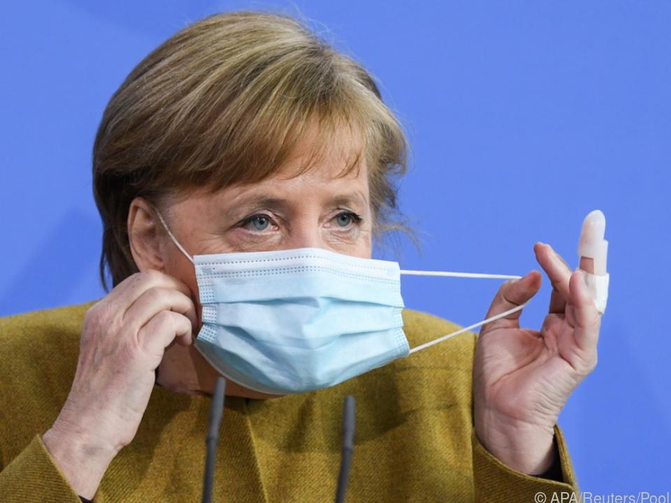 Deutsche Kanzlerin Merkel sieht ernste Lage